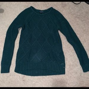 Forest green American Eagle sweater, size small
